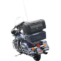T-BAGS RACK PACK BAG DAKOTA TEXTILE BLACK