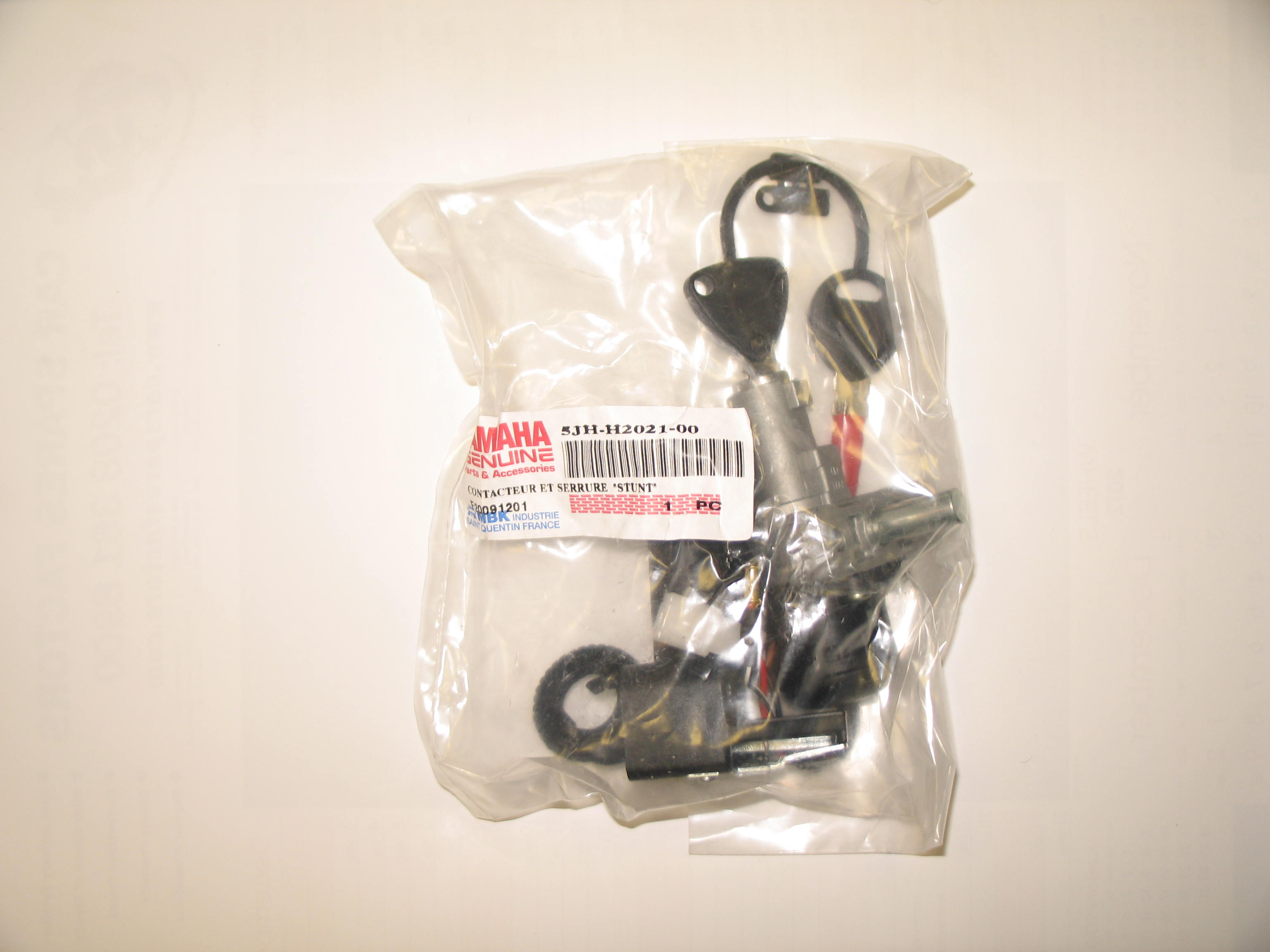 Yamaha EW50 slider 5JH 1999-2003 Lock set 5JH-H2021-00