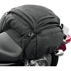 T-BAGS TAIL BAG RAVEN TEXTILE BLACK