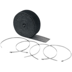 "ACCEL EXHAUST WRAP KIT BLACK 2""x25'"