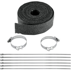 VANCE & HINES EXHAUST WRAP KIT (BLACK) 25FT