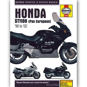 HONDA ST1100 PAN EUROPEAN 1990-2002 WORKSHOP MANUAL