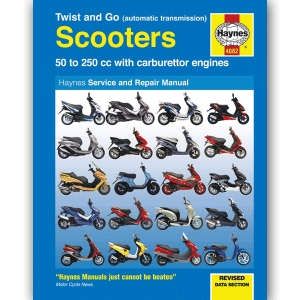 TWIST AND GO (AUTOMATIC TRANSMISSION) SCOOTER'S WORKSHOP MANUAL