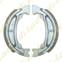 DRUM BRAKE SHOES VB322, S601 100MM x 25MM (PAIR)