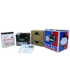 KYMCO XCITING 500Ri, XCITING 500Ri ABS, XCITING 500Ri EVO ABS, XCITING 300Ri, XCITING 250Ri 2009-2013 BATTERY AGM MAINTENANCE FREE 12V 12 AH 240A 3.9 KG 152.4 MM X 87.31 MM X 146.05 MM BLACK (YTX/ CTX14H-BS)