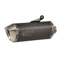 DUCATI MONSTER 821, MONSTER 821 ABS, MONSTER 821 ABS DARK, MONSTER 821 ABS STRIPE 2014-2016 FORCE SLIP-ON MUFFLER DARK STYLE (S/S)