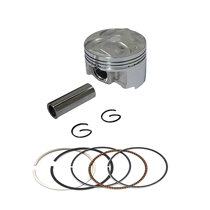 Yamaha FZ400, FZR400RR, PISTON KIT 3TJ 4DX (90-99) (Oversize +50=56.5mm) EACH