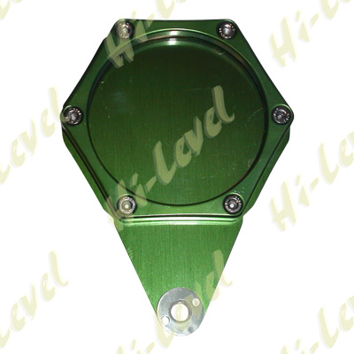 TAX, SERVICE, MOT REMINDER HEXAGON GREEN 6 STUDS