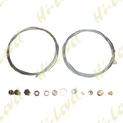 CABLE INNER FOR THROTTLE & CLUTCH WITH ASSORTED NIPPLES