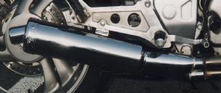 Honda NTV650 REVERE Predator Road silencer