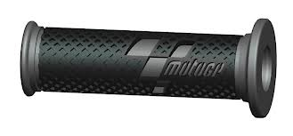 COMPETITION BAR GRIPS MOTO GP BLACK/GRAY (PAIR)