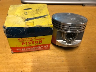 Kawasaki 1000 KZ1000 Z1000 77-78 Z1R piston STD 70mm 13001-1005 genuine NOS