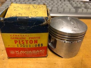 KAWASAKI Z400, KZ400 TWIN 64mm (STD SIZE) PISTON