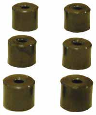 SCOOTER VARIATOR ROLLERS 19mm X 15.5mm 4.5g UNIVERSAL SET OF SIX