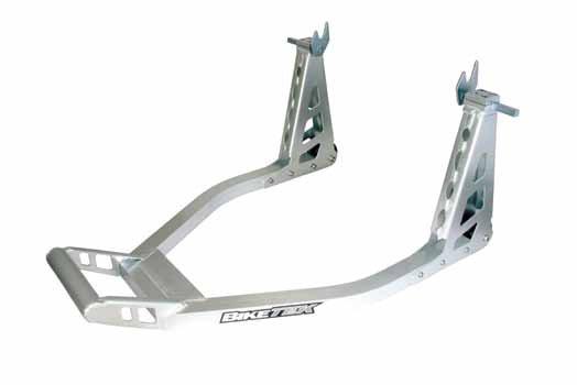 Aluminium Box Paddock Stand REAR FOR BOBBIN ADAPTORS