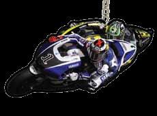 Jorge Lorenzo #1 / Yamaha Factory Racing KEY RING