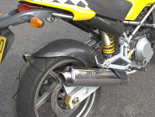 DUCATI MONSTER 900 S4 PREDATOR SILENCERS with Removable Baffles (pair)