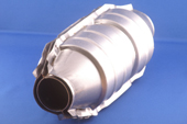 EXHAUST CAT 200 Cell Sports Cat 270mm x 130mm. Inlet min 2inch