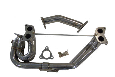 Subaru Impreza Manifold and Up Pipe. Fits all WRX models and comes with up pipe and gasket set