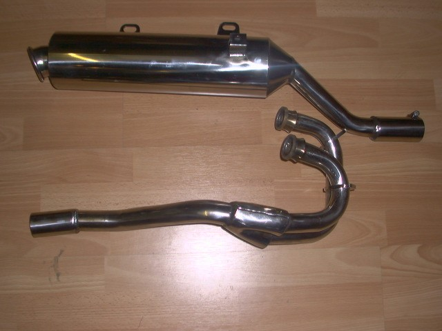 XT600E YAMAHA  1995-2006 MODELS PREDATOR EXHAUST SYSTEM ROAD LEGAL