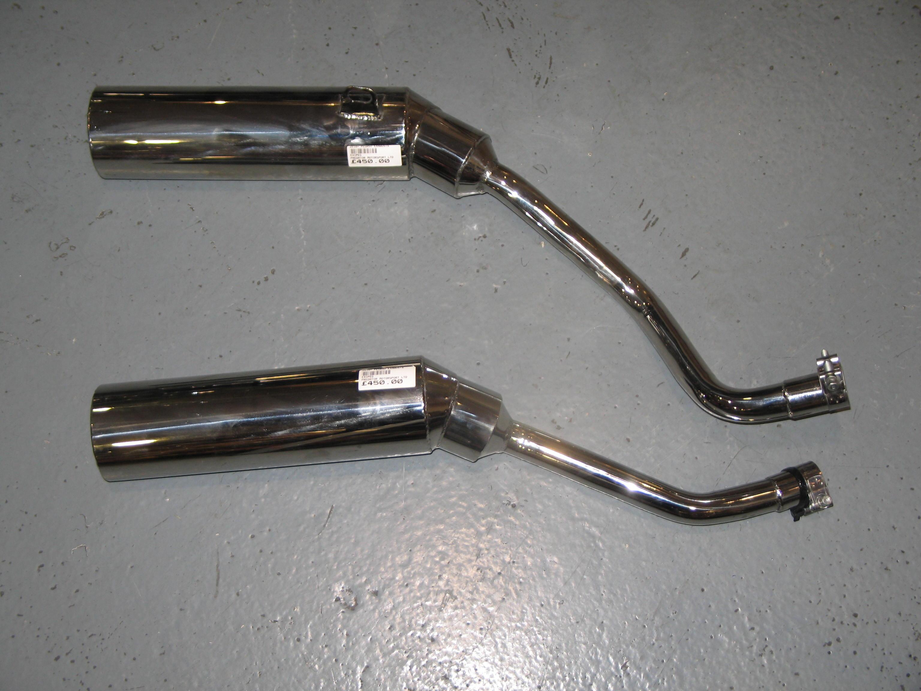APRILIA PEGASO MK4 (YAMAHA ENGINE MODEL) PREDATOR SILENCERS (PAIR)