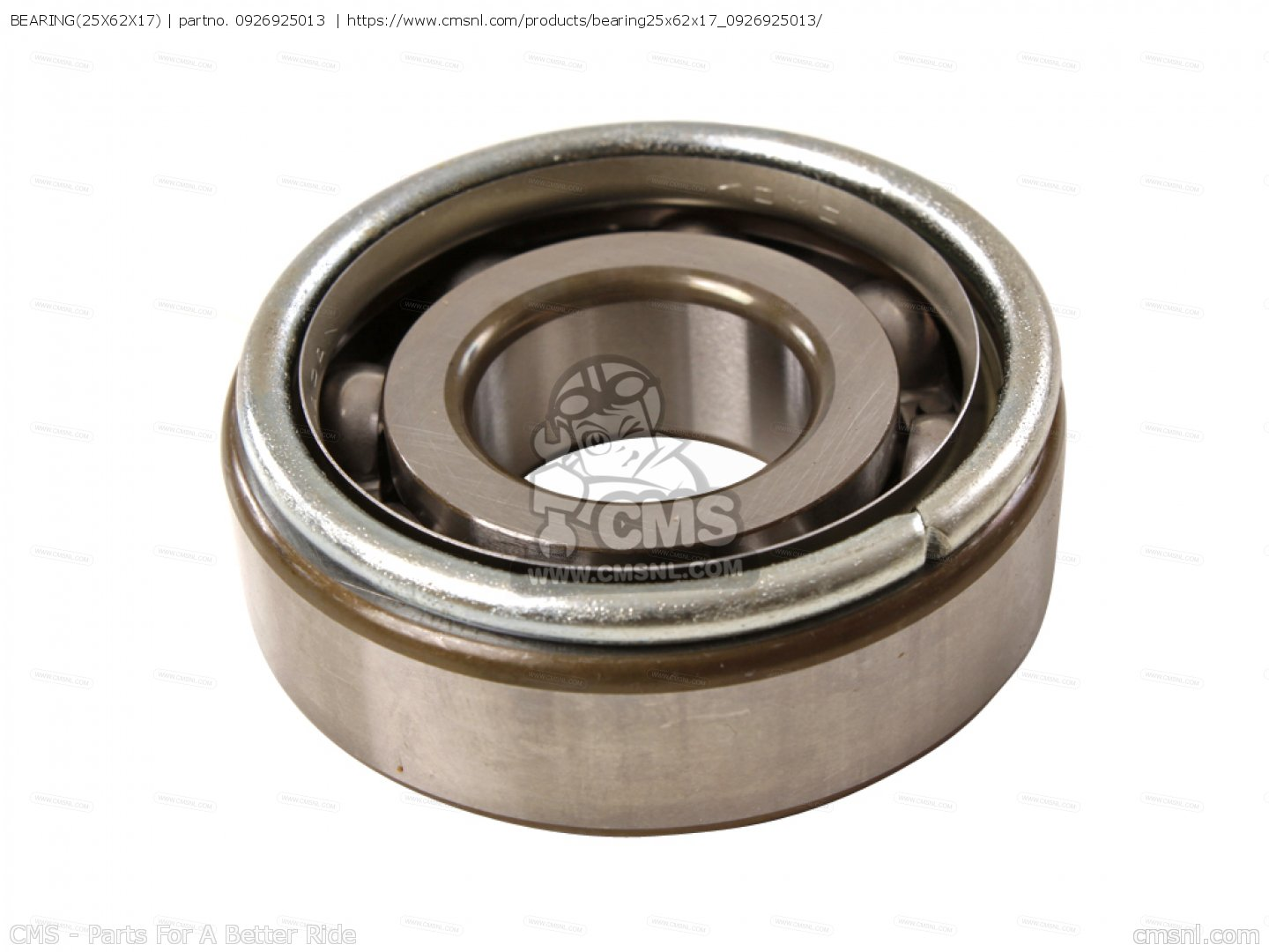 SUZUKI BEARING (25X62X17) WITH LOCATING RING JAPAN