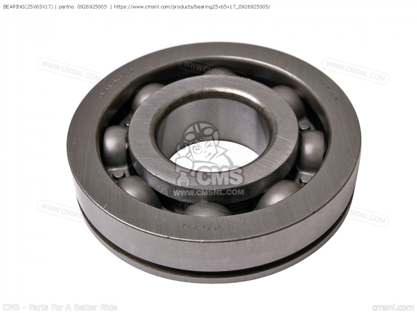 SUZUKI BEARING(25X65X17) WITH LOCATING GROVE JAPAN