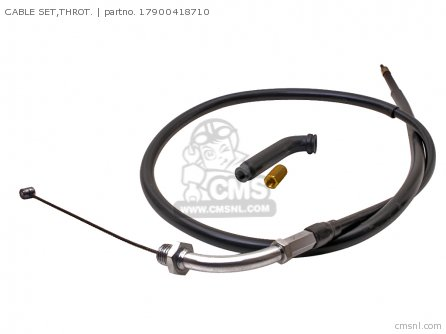 HONDA THRTTLE CABLE GEN P/No 17900418710 (GENUINE)