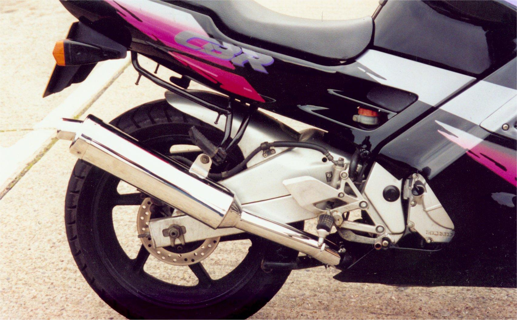 Honda Cbr600f Fmfr Exhaust Sustem Cbr600f Exhaust Honda Exhaust