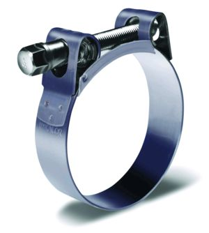 EXHAUST BANJO CLAMP 59mm - 63mm STD DUTY
