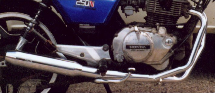 HONDA CB250K1- K4 2-1 ROAD/SPORT Exhaust System Road WITH RB