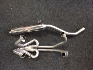 HONDA VFR400 NC24 RH/RJ 1987-88  EXHAUST SYSTEM COMPLETE ROAD