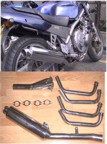 Honda CB1 400 Exhaust, Honda CB1 400, CB1 400 Exhaust ...