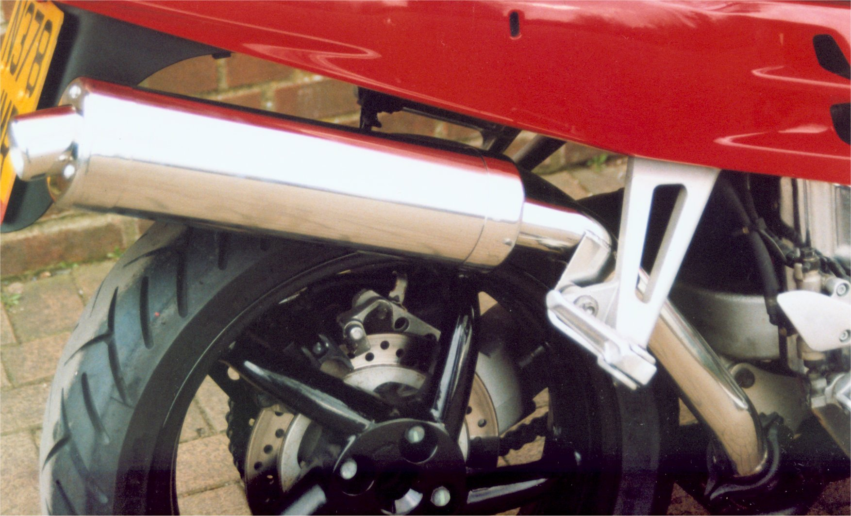 "Honda VFR750 FR to FV 1994 to 1997 ( RC36A) Exhaust to Silencer HIGH LEVEL Link Pipe 50.8mm (2"")"