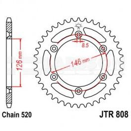 808-48 REAR SPROCKET CARBON STEEL