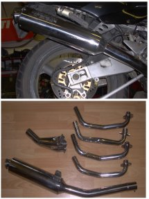 ZRX400 KAWASAKI All Models 4-1 Exhaust System Road Legal