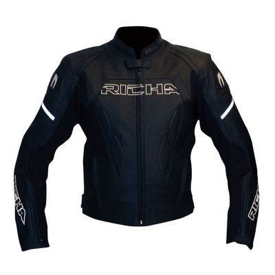 RICHA LUCKY RACING JACKET BLACK - SIZE 40 (UK)