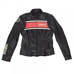 Yamaha Classic Casual Leather Jacket Ladies size- M