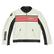 YAMAHA CLASSIC CASUAL JACKET WHITE - MEDIUM