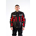 SIGNAL JACKET UNISEX BLACK/RED