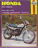 HONDA CR250M 1973-1975 WORKSHOP MANUAL