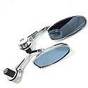 Mirror MR101 SILVER Pair