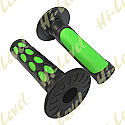 "GRIPS LARGE DIMPLE GREEN TO FIT 7/8"" HANDLEBARS"