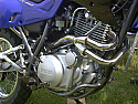 XT600E YAMAHA ALL MODELS FRONT PIPEWORK ASSEMBLEY