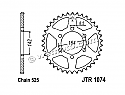 1074-44 REAR SPROCKET CARBON STEEL