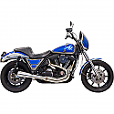 H/D FXR EXHAUST ROAD RAGE 3 STAINLESS SYSTEM 2 INTO 1 MUFFLER