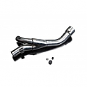 YAMAHA YZF-R1 09-14 STAINLESS STEEL EXHAUST DE-CAT PIPE OEM REPLACEMENT