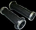 HANDELBAR ROUND XLR8 ROAD GRIP 125mm BLACK/SILVER