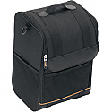 SADDLEMEN SISSY BAR BAG UNIVERSAL TEXTILE BLACK - SSR1200
