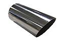"TAIL PIPE 4"" Round Slash Cut 101mm (4 inch)Round Mitre Slash Cut"